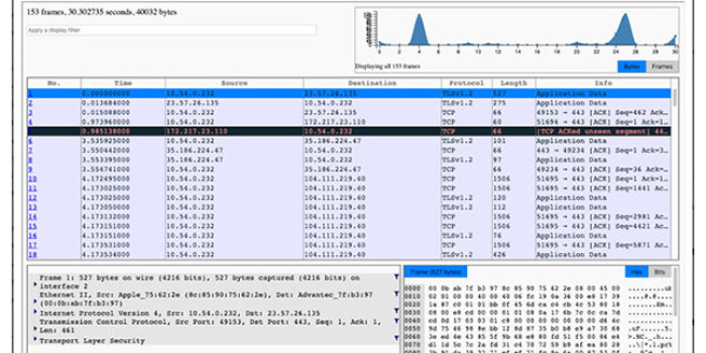 New firmware release 2.5 with fully integrated Webshark Packet Analysis