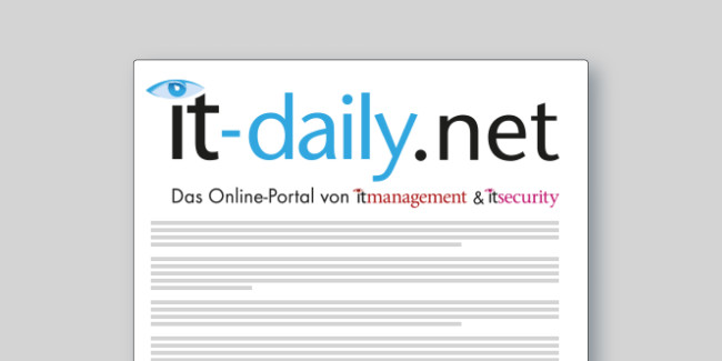 The user story of the Gemeinsames Netzwerk Zentrum has been published in the magazine it-daily.