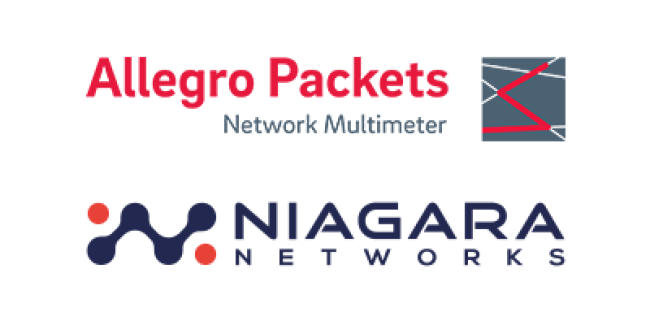 Allegro Packets partners with Niagara Networks